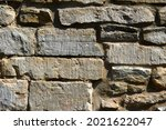 Walls made of stone , stone background. High quality photo