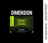 dimension writing design ... | Shutterstock .eps vector #2021893037