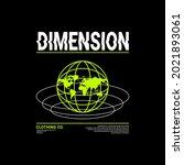 dimension writing design ... | Shutterstock .eps vector #2021893061