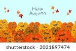 hello autumn landscape... | Shutterstock .eps vector #2021897474