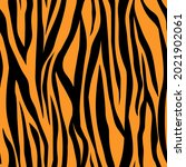 seamless pattern abstract tiger ... | Shutterstock .eps vector #2021902061