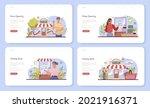 commercial activities web... | Shutterstock .eps vector #2021916371