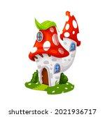 fairytale amanita mushroom...