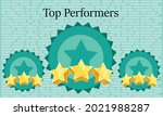 top performers. high performing ... | Shutterstock .eps vector #2021988287