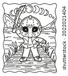 Spooky Coloring Pages. Coloring ...