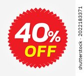 special offer discount tag with ... | Shutterstock .eps vector #2022183371