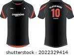 sports jersey t shirt design... | Shutterstock .eps vector #2022329414