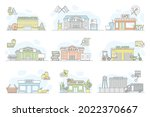 municipal services or city... | Shutterstock .eps vector #2022370667