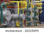 close up of industrial pipes of ... | Shutterstock . vector #20225095