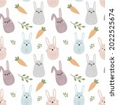 Cute Rabbit And Carrot Indoodle ...