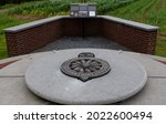 Small photo of Frezenberg, West Flanders Region - Belgium - 07 15 2021: Princess Patricia's Canadian Light Infantry Memorial
