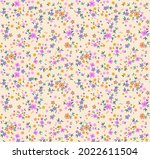 Beautiful Floral Pattern In...