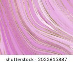 liquid gold rose marble canvas... | Shutterstock . vector #2022615887