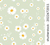 seamless pattern with white...   Shutterstock .eps vector #2022672011