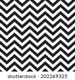 geometric zigzag seamless... | Shutterstock . vector #202269325