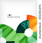 abstract geometric shapes... | Shutterstock .eps vector #202281691