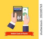 Opened Wallet In Human Hands...