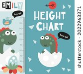 Kids Height Chart With Cute...