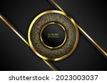 luxury background with line and ...   Shutterstock .eps vector #2023003037