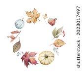 a watercolor postcard for... | Shutterstock . vector #2023017497
