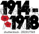 World War One Symbolic graphic design