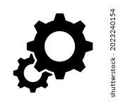 setting gear vector icon design ...   Shutterstock .eps vector #2023240154