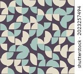 abstract geometric pattern... | Shutterstock .eps vector #2023257494