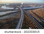 aerial view of new jersey... | Shutterstock . vector #202333015