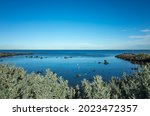 The Rocky Coastal Sea View At...