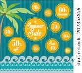 summer sales   Shutterstock .eps vector #202358359