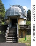 the dome of an observatory | Shutterstock . vector #202377001
