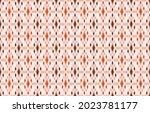 ikat ethnic design beige ... | Shutterstock .eps vector #2023781177