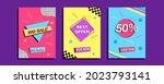 collection of graphics for... | Shutterstock .eps vector #2023793141
