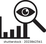 data analytic icon vector....   Shutterstock .eps vector #2023862561