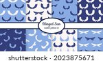 collection of seamless patterns ... | Shutterstock .eps vector #2023875671