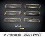 buttons set web steel on...   Shutterstock .eps vector #2023919987