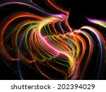 Abstract Fantastic Bright...