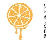 orange | Shutterstock .eps vector #202397839