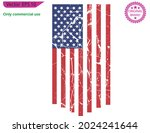red usa flag. distressed... | Shutterstock .eps vector #2024241644