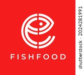 logo design with letter e mix... | Shutterstock .eps vector #2024281991