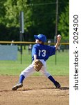 boy pitching | Shutterstock . vector #2024300