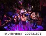 new york  ny   june 30  2014 ... | Shutterstock . vector #202431871