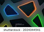 abstract dark texture dimension ... | Shutterstock .eps vector #2024344541