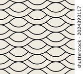 vector seamless pattern. modern ... | Shutterstock .eps vector #2024393117