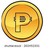 Peso Coin Vector
