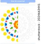 educational game for children....   Shutterstock .eps vector #2024663441