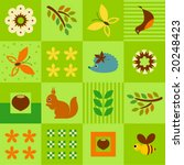 seamless pattern.   Shutterstock .eps vector #20248423