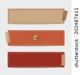 vintage paper designs  note...   Shutterstock .eps vector #202487611