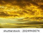 Splendid Cloudscape At Sunset...