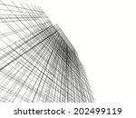 mesh building | Shutterstock . vector #202499119